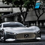 Mercedes-Benz Vision Grand Turismo right front view production 2015