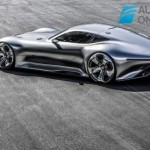 Mercedes-Benz Vision Grand Turismo right rear profile view production 2015