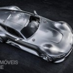 Mercedes-Benz Vision Grand Turismo top view production 2015