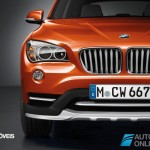 New BMW X1 Presentation Salon Detroid 2014 Front View