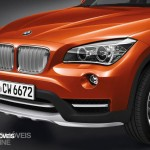 New BMW X1 Presentation Salon Detroid 2014 Front left View