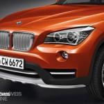 New BMW X1 Presentation Salon Detroid 2014 Front left View