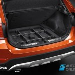 New BMW X1 Presentation Salon Detroid 2014 bagage View