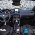New Peugeot RCZ R Coupè 1.6 THP 270 CV 2013 interior front view Automoveis-Online
