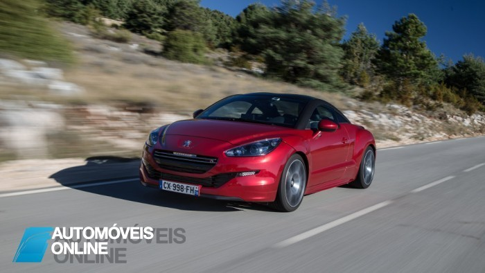 New Peugeot RCZ R Coupè 1.6 THP 270 CV 2013 left front profile view Automoveis-Online