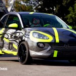 Opel Adam Design by Valentino Rossi car and Valentino Front right view