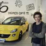 Opel Adam Design by Valentino Rossi car and Valentino Front view