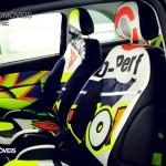 Opel Adam Design by Valentino Rossi car and Valentino interior view