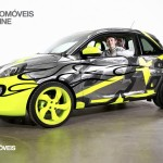 Opel Adam Design by Valentino Rossi car with Valentino inside view