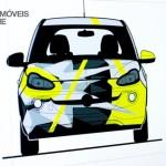 Opel Adam Design by Valentino Rossi draw view