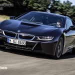 Smartphone New key sistem BMW i8 2014 front car View