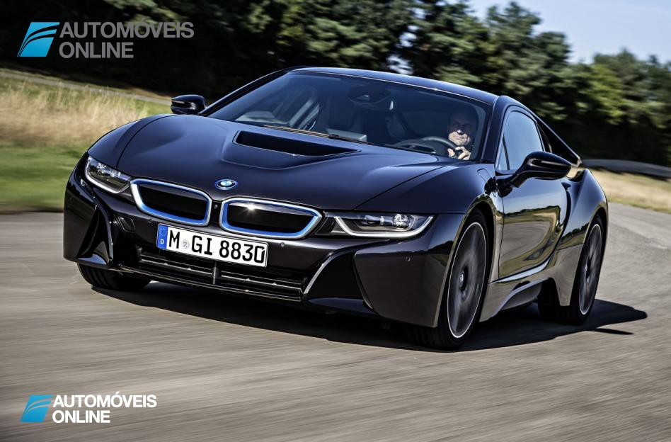 Smartphone New key sistem BMW i8 2014 front car View