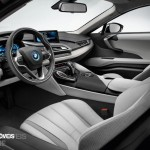 Smartphone New key sistem BMW i8 2014 interior View