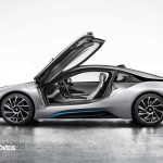 Smartphone New key sistem BMW i8 2014 profile doors open View