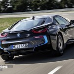 Smartphone New key sistem BMW i8 2014 rear View