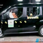 EuroNCAP 2013 Crash teste Ford Tourneo Connect profile view