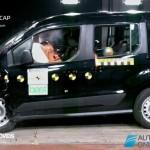 EuroNCAP 2013 Crash teste Ford Tourneo Connect profile view