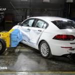 EuroNCAP 2013 Crash teste Qoros 3 Sedan rear view