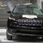 EuroNCAP 2013 Crash teste cherokee profile view