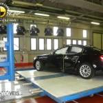 EuroNCAP 2013 Crash teste maserati profile view