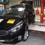 EuroNCAP 2013 Crashteste Kia Carens