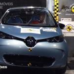 EuroNCAP 2013 Crashteste Renault ZEO front view