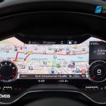 New Interior 2015 Audi TT display view