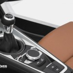 New Interior 2015 Audi TT gear suport view
