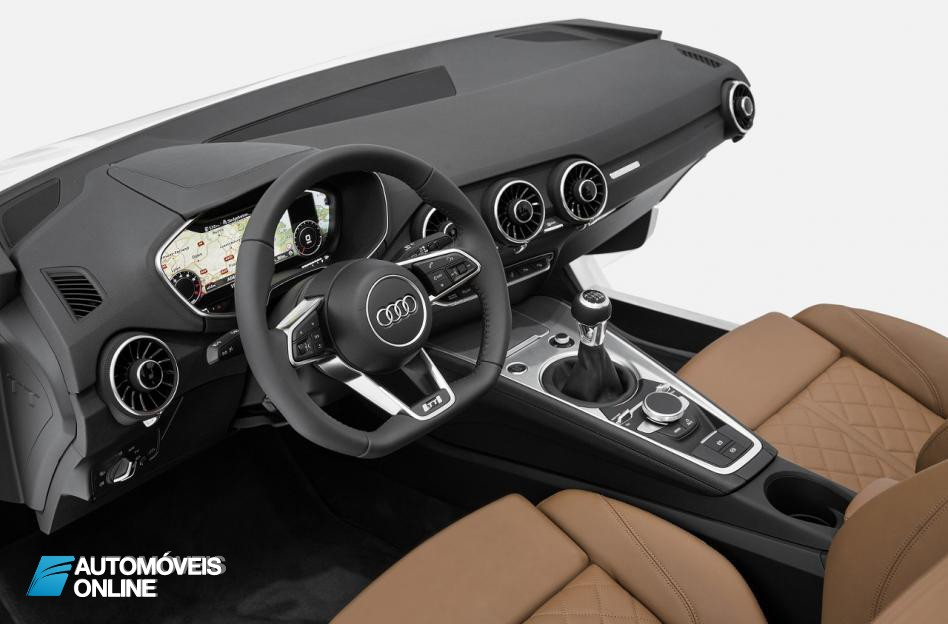 New Interior 2015 Audi TT tablier view