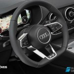 New Interior 2015 Audi TT wheel view