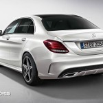 New Mercedes-Benz Classe C 2014 Rear left view