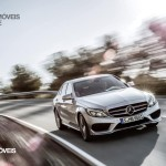New Mercedes-Benz Classe C 2014 front street view