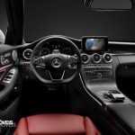 New Mercedes-Benz Classe C 2014 interior driver view