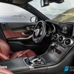 New Mercedes-Benz Classe C 2014 interior view by passager