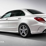 New Mercedes-Benz Classe C 2014 left rear quarter view