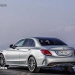 New Mercedes-Benz Classe C 2014 left rear street view