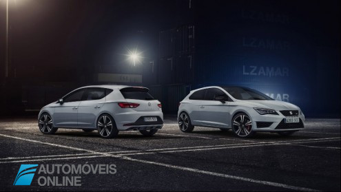 New Seat Leon Cupra 280cv 2014 Front and rear view