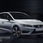New Seat Leon Cupra 280cv 2014 Front right quarter five doors view