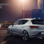 New Seat Leon Cupra 280cv 2014 rear left quarter view