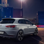 New Seat Leon Cupra 280cv 2014 rear right tre doors view