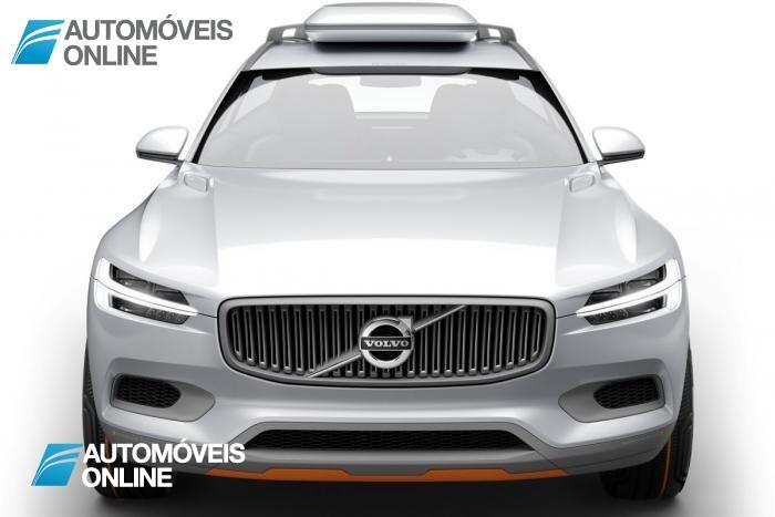 New volvo xc90 concept xc coupe - Front view - Detroit Salon 2014