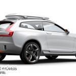 New volvo xc90 concept xc coupe - Rear profile right view - Detroit Salon 2014
