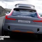 New volvo xc90 concept xc coupe - Rear view - Detroit Salon 2014