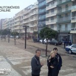 Ondas gigantes Foz Porto 2014