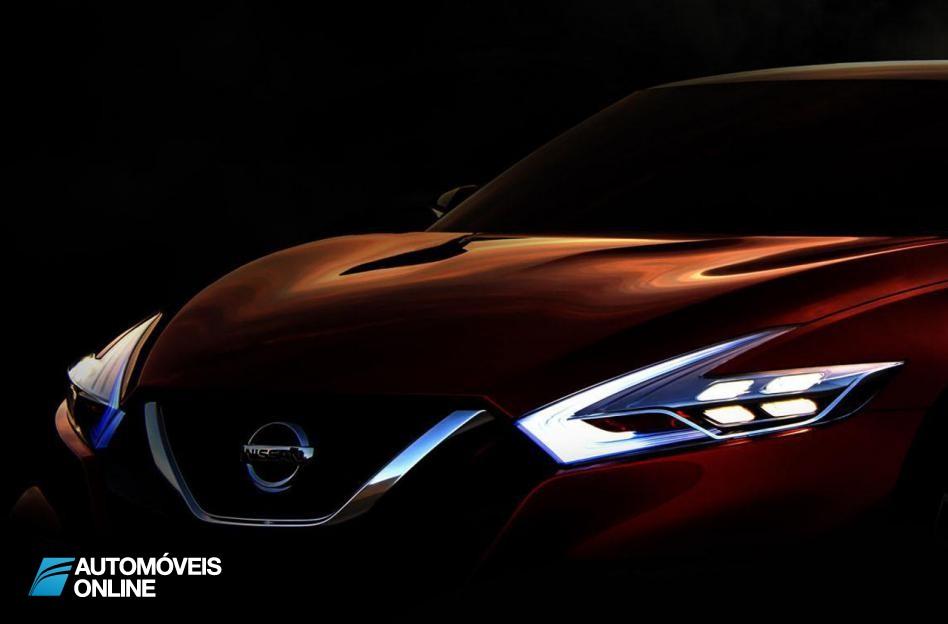 Primeira aparição! Estudo do Nissan Sport Sedan