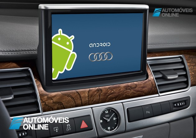 Será uma resposta da Google à Apple? Android equipa novos carros Audi