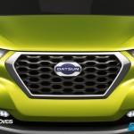 Datsun redi-GO Concept 2014 presentation front logo view