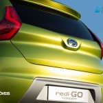 Datsun redi-GO Concept 2014 presentation rear bagage view