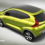 Datsun redi-GO Concept 2014 presentation rear letf quarter view