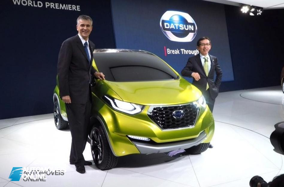 Datsun redi-GO Concept 2014 presentation salon view